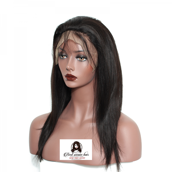 360 Frontal Closure Straight Hair Weave