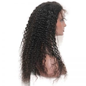 Deep Curly Silk Base Lace Front Wig