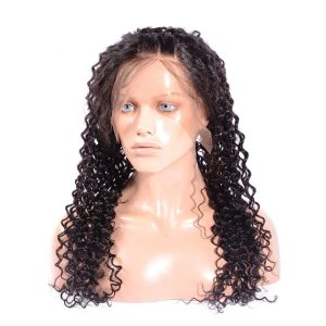 360 Lace Frontal Deep Curly Hair