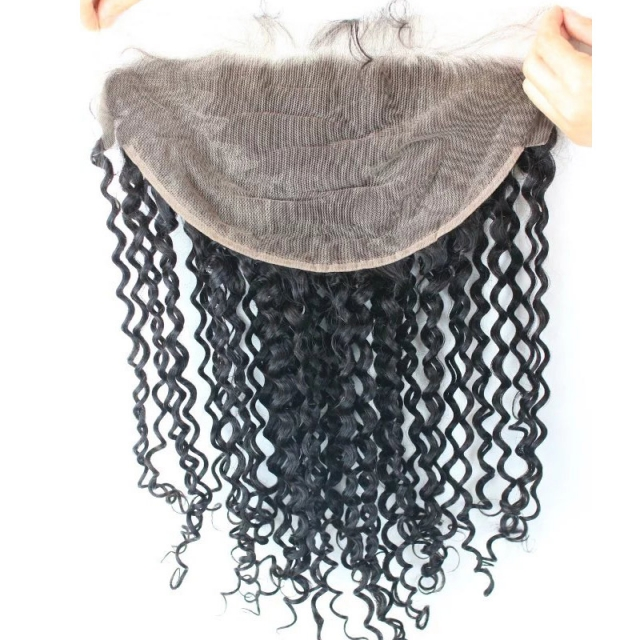 13X6 Lace frontal Deep Curly hair
