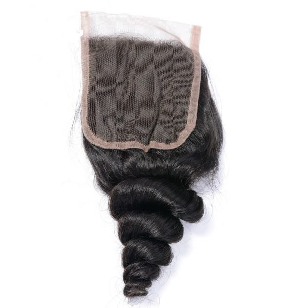 4X4 Lace Closure loose wave hair