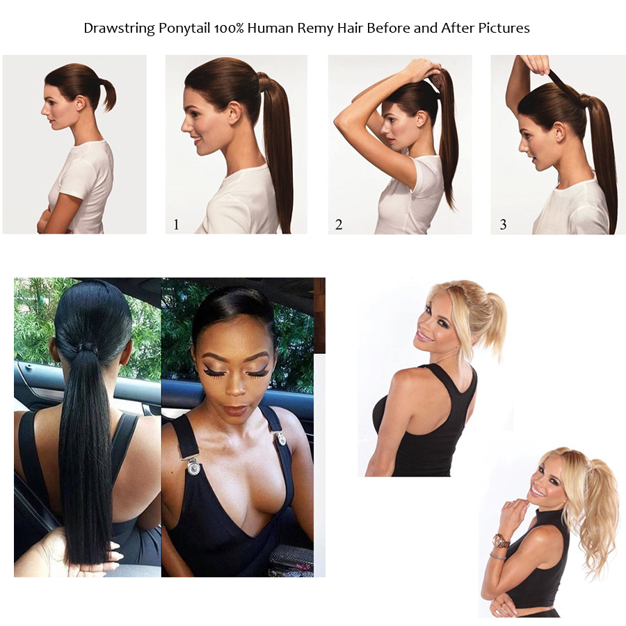 Before-after-Ponytail-Extension