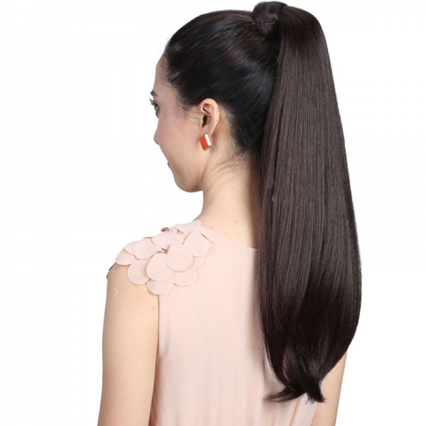 Drawstring-Pony-tail-Long-Straight-Hair-Extensions-Piece-Wrap-Around-Ponytail