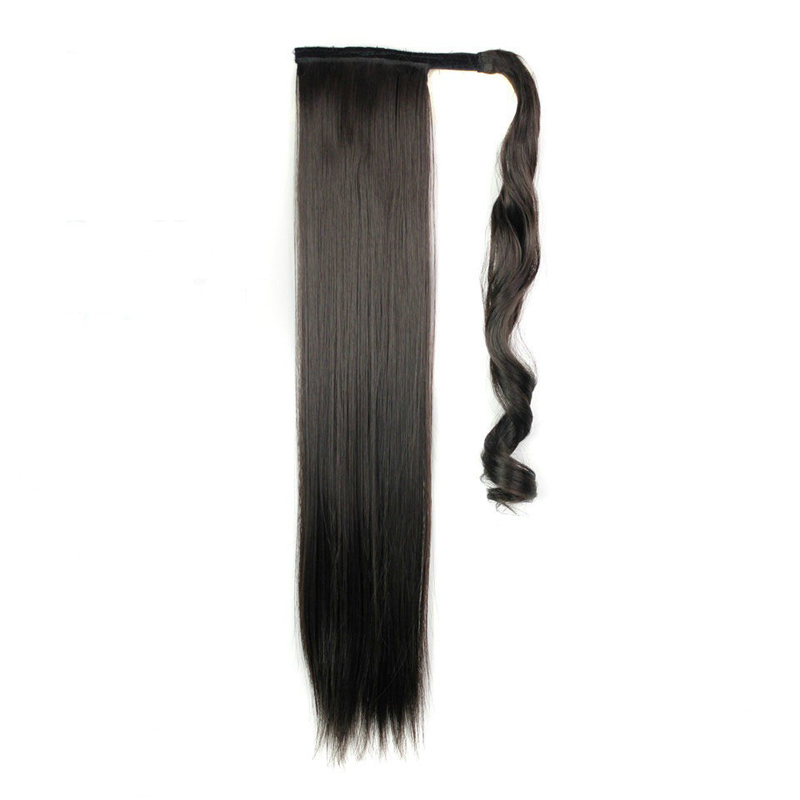Wrap Ponytail Extension Canada 100 Human Hair Straight