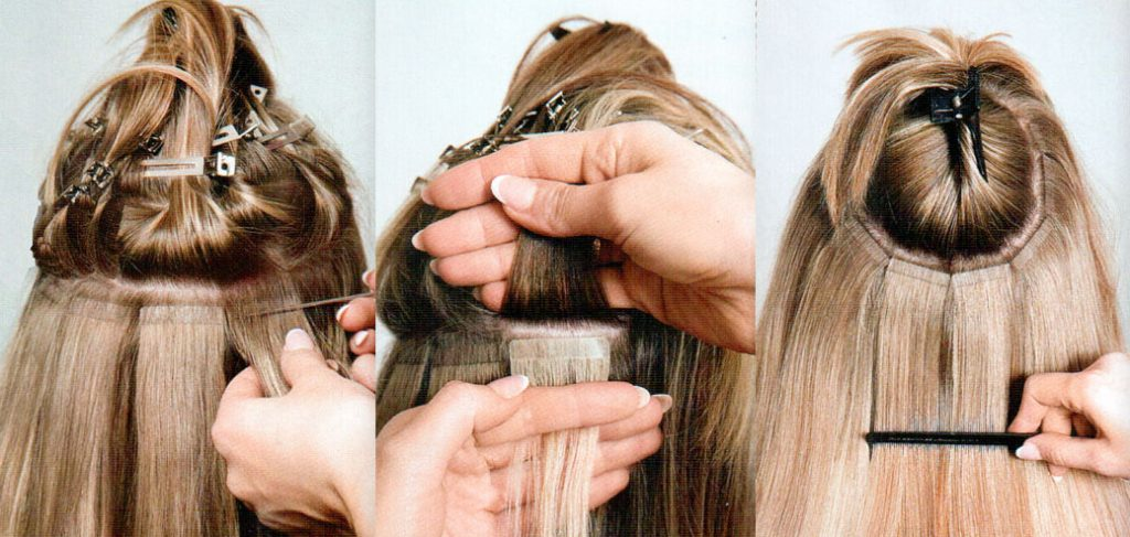 tape-in-extensions
