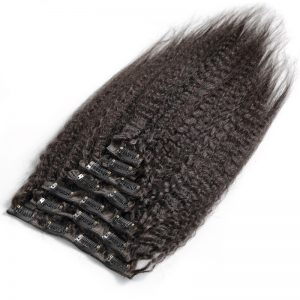 Clip-Ins-Kinky-Straight-Hair-Extensions