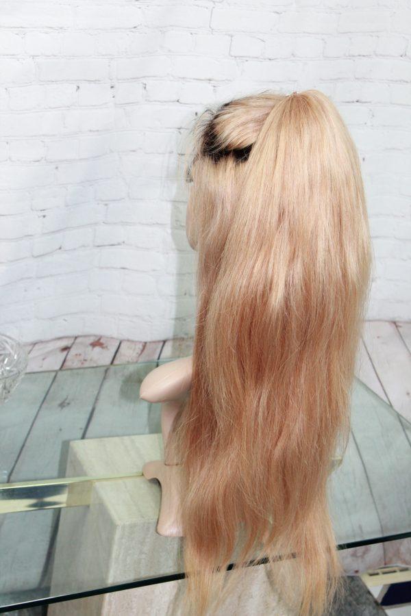 Blond-Wig-With-Dark-ROots-22-inch-Virgin-Hair