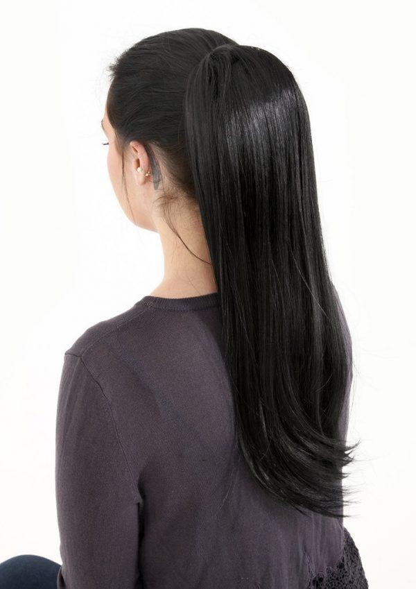 Jet-Black-Human-Hair-Ponytail