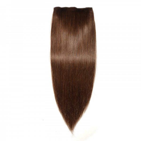 Brown-CLips-Human-Hair