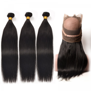 Straight-Hair-Weave-Bundles-With-Closure-360-Frontal